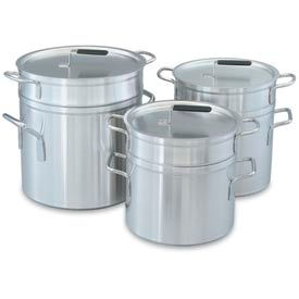 """12 Qt (10"""") Double Boiler With Cover"""