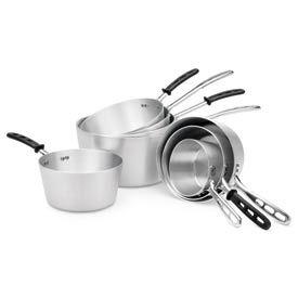 Aluminum Tapered Sauce Pans 3-3/4 Qt. - Pkg Qty 6