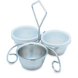 6 Oz. Stainless Steel Bowl - Pkg Qty 12