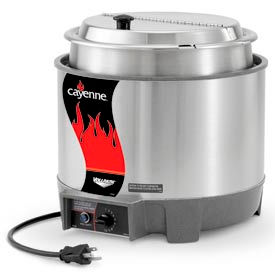 Cayenne® Round Heat 'N Serve - 7 Qt. Unit with Package