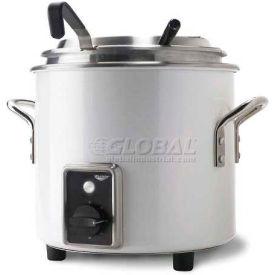 Vollrath, Retro Stock Pot Kettle Rethermalizer, 7217250, 11 Quart, Pearl White Finish