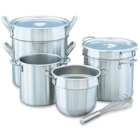 Stainless Steel Double Boiler 11 Qt. Inset
