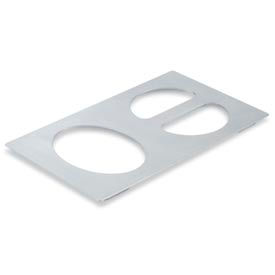 Miramar™ Satin SS Single Template - One Oval and Two Half Ovals
