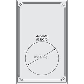 Miramar™ Satin SS Single Template - One Medium Round