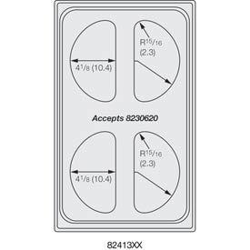 Miramar™ Plain SS Single Template - Four 1/2 Ovals