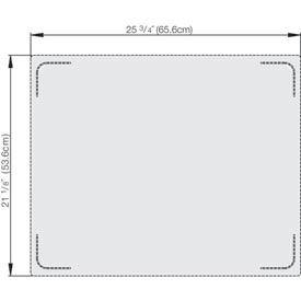 Miramar™ Plain SS Blank Double Template