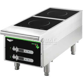 "Vollrath, Cayenne Heavy-Duty Induction Hot Plate, 912HIDC, Dual-Hob Digital, 12"" X 13-5/8"" X... by"