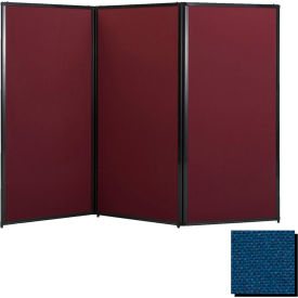 """Privacy Screen, 70"""" Fabric, Navy Blue"""