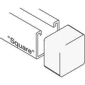 "Versabar Bump Cap For 1-5/8"" Sq - Pkg Qty 100"
