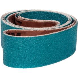 "VSM Abrasive Belt, 101697, Zirconia Alumina, 2"" X 60"", 40 Grit - Pkg Qty 10"