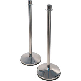 "Visiontron PRIME Conventional Urn Post Polished Stainless Steel, 39-3/4""H, 2/PACK"