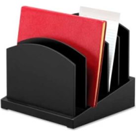 Victor Tech Incline File with 6 Dividers Black