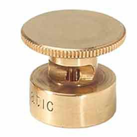 Weathermatic B20-H-LA Brass Half-Circle Sprinkler Nozzle, 20' Radius