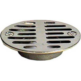 """Wal-Rich® 0522004 2"""" Chrome-Plated Brass Shower Stall Strainer - Pkg Qty 8"""