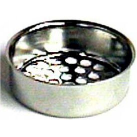 "Wal-Rich® 0528006 Ketchall Wash Tray Strainer, 1-1/2"" Diameter - Pkg Qty 120"