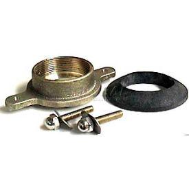 "Wal-Rich® 1353018 4"" Brass Urinal Flange Kit - Pkg Qty 4"
