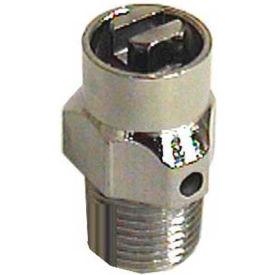 """Wal-Rich® 1701202 1/8"""" Combination Coin/Key Air Valve - Pkg Qty 96"""