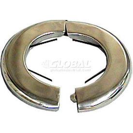 """Wal-Rich® 1729018 3-1/2"""" Heavy-Duty Steel Floor & Ceiling Plates W/Spring - Pkg Qty 12"""