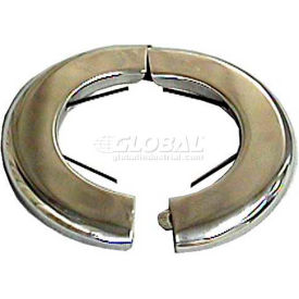 """Wal-Rich® 1731002 3/8"""" Heavy-Duty Steel Floor & Ceiling Plates W/Spring - Pkg Qty 48"""