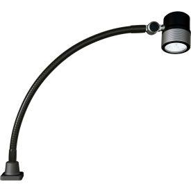 Waldmann 113184000-00680285 Rocia LED Gooseneck Task Light, 8.5W, 5000K, IP67, 40 Deg. Beam Spread