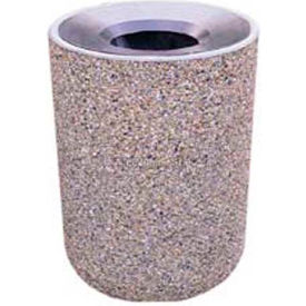 Garbage Can Amp Recycling Stone Concrete Waste