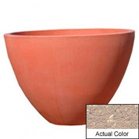 Wausau TF4122 Round Outdoor Planter - Weatherstone Buff 48x36