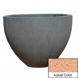 Wausau TF4132 Round Outdoor Planter - Weatherstone Cream 60x42