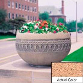 Wausau TF4226 Round Outdoor Planter - Weatherstone Cream 42x24