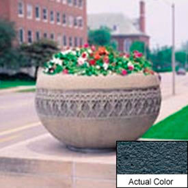 Wausau TF4226 Round Outdoor Planter - Weatherstone Charcoal 42x24