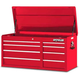Waterloo PCH-418RD 8-Drawer Chest - Red