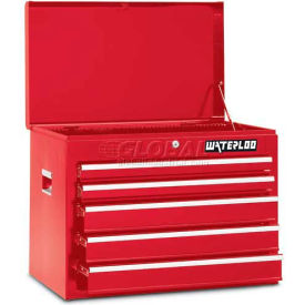 Waterloo WCH-265RD 5-Drawer Chest - Red