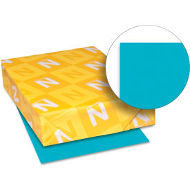 """Neenah Paper Astrobrights Colored Paper 21849, 8-1/2"""" x 11"""", Terrestrial Teal™, 500 Shts/Ream"""