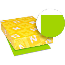 """Neenah Paper Astrobrights Colored Card Stock 21869, 8-1/2"""" x 11"""", Vulcan Green™, 250/Pack"""