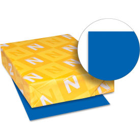 """Neenah Paper Astrobrights Colored Paper 21906, 8-1/2"""" x 11"""", Blast-Off Blue™, 500 Sheets/Ream"""
