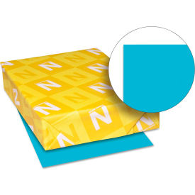 """Colored Paper - Neenah Astrobrights 22523 -  11"""" x 17"""" - Lunar Blue™ - 500 Sheets/Ream"""