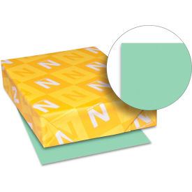 """Neenah Paper Exact Index Card Stock 49561, 110 lbs, 8-1/2"""" x 11"""", Green, 250/Pack"""
