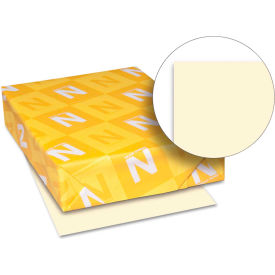 """Neenah Paper Exact Index Card Stock 49581, 110 lbs, 8-1/2"""" x 11"""", Ivory, 250/Pack"""