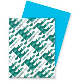 "Neenah Paper Astrobrights Card Stock Paper, 8-1/2"" x 11"", Lunar Blue, 250 Sheets/Pack by"
