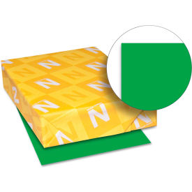"""Neenah Paper Astrobrights Card Stock Paper, 8-1/2"""" x 11"""", Gamma Green, 250 Sheets/Pack by"""