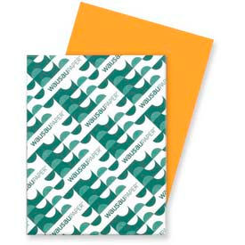 """Neenah Paper Astrobrights Card Stock Paper, 8-1/2"""" x 11"""", Cosmic Orange, 250 Sheets/Pack by"""