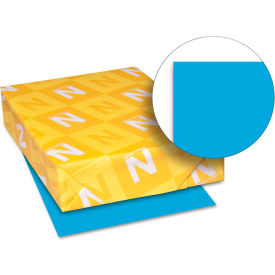 """Neenah Paper Astrobrights Card Stock Paper, 8-1/2"""" x 11"""", Celestial Blue, 250 Sheets/Pack by"""