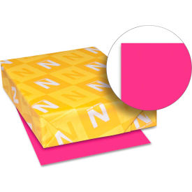 "Neenah Paper Astrobrights Card Stock Paper, 8-1/2"" x 11"", Fireball Fuschia, 250 Sheets/Pack by"