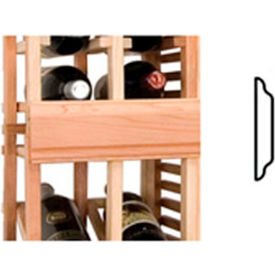 Vintner Series Finish Option, Center Seam Strip, Straight - Light, All-Heart Redwood