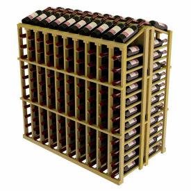 Vintner Commercial Island W/Individual Bottle Rails - Pine, Walnut