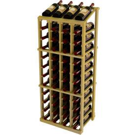 Vintner Commercial 4 Column Merchandiser W/Individual Bottle Rails - Pine, Light