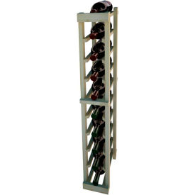 Individual Bottle Wine Rack - 1 Column, 3 ft high - Unstained Pine