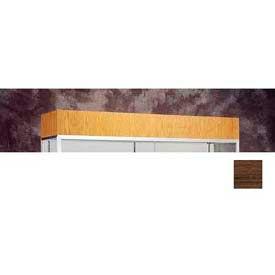 "Cornice/Light Fixture 48""W For Reliant Display Case - Walnut Vinyl"