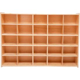 """25 Tray Cubby Storage, Unassembled w/o Trays, 46-3/4""""W x 12""""D x 33-7/8""""H"""