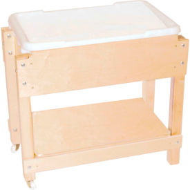 Wood Designs™ Petite Sand and Water with Top and Shelf