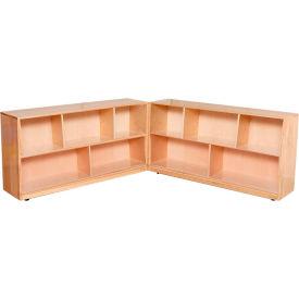 "Folding Storage, 24""H, Maple"